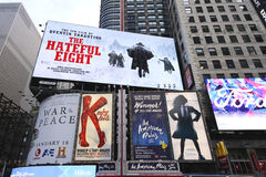 Broadway signs in Manhattan Royalty Free Stock Image