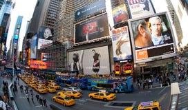 broadway stad New York Arkivfoton