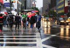 Broadway street. New York City Royalty Free Stock Image