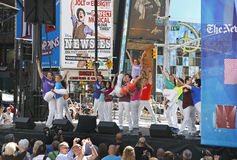 Broadway su Broadway Immagine Stock