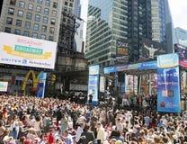 Broadway su Broadway Fotografia Stock Libera da Diritti