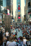 Broadway at Times Square New York USA Stock Image