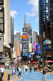 Broadway and Times Square, New York City stock photos