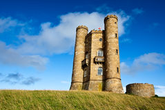 Broadway Tower. View of Broadway Tower in the Cotswolds, England royalty free stock photo