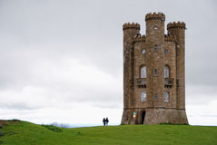 Broadway Tower in England Royalty Free Stock Image
