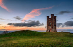 Broadway Tower royalty free stock photos