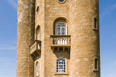 Broadway Tower facade Stock Photography