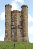 Broadway Tower - Folly in Cotswolds England Stock Images
