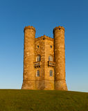 Broadway Tower before sunset, Cotswolds, UK. Broadway Tower before sunset, Cotswolds, United Kingdom Royalty Free Stock Photos