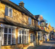 Broadway village cotswolds Royalty Free Stock Image