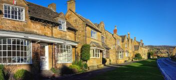 Broadway village cotswolds Royalty Free Stock Photos