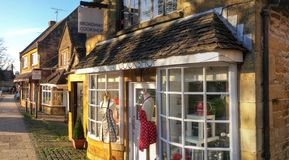 Broadway village cotswolds Stock Photography