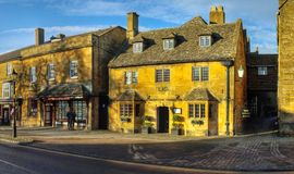 Broadway village cotswolds Stock Image