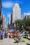Broadway w Manhattan, Miasto Nowy Jork Zdjęcie Stock