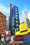 Broadway-Wolkenkratzer im Times Square Lizenzfreie Stockfotos