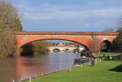 broar över floden thames Royaltyfri Fotografi
