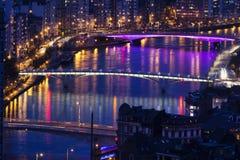 Broar av Liege Arkivbilder