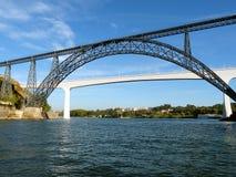 Broar av Porto 3 royaltyfri fotografi