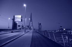 Broar av Rotterdam Arkivfoto