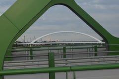 Broar Bratislava Royaltyfri Fotografi