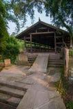 Broar för bro för Huaying flod forntida ---- Norr bro för stjärnagränsbro Royaltyfria Foton
