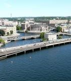 broar två Royaltyfria Bilder