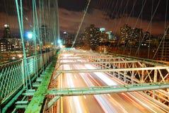 brobrooklyn stad New York royaltyfri foto