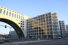 brobyggnad Royaltyfri Foto