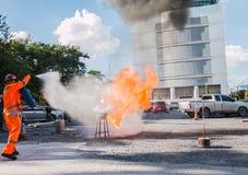 Broca de fogo Foto de Stock Royalty Free