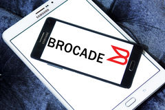 Brocade Communications Systems logo Stock Images