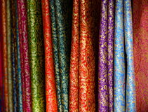 Brocade Fabric Royalty Free Stock Photo