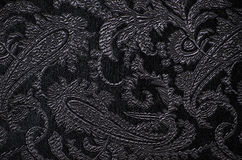 Brocade fabric detail Royalty Free Stock Photos
