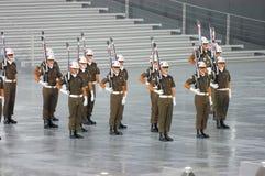 Brocas da precisão da polícia militar Fotos de Stock Royalty Free