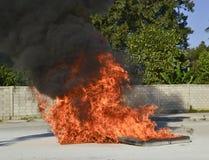 Brocas de fogo da prática imagens de stock royalty free