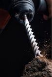 Brocas de martelo giratórias concretas Fotos de Stock