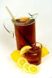 Brocca del tè di ghiaccio Fotografia Stock Libera da Diritti