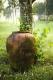 Brocca dell'argilla Immagine Stock