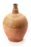 Brocca dell'argilla fatta a mano Fotografia Stock