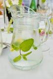 Brocca di acqua Fotografia Stock