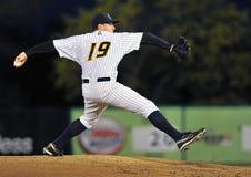 Brocca di baseball della Lega Minore Fotografie Stock Libere da Diritti