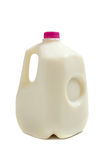 Brocca di gallone di latte fotografia stock
