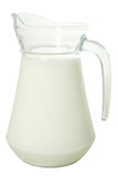 Brocca di latte Fotografia Stock Libera da Diritti