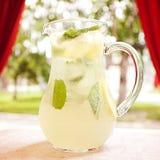Brocca di limonata fresca Immagine Stock Libera da Diritti