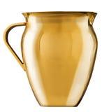Brocca dorata Immagine Stock