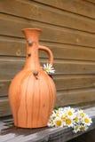 Brocca e lumaca dell'argilla Fotografia Stock