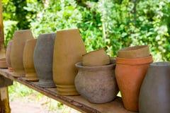 Brocche dell'argilla Immagini Stock