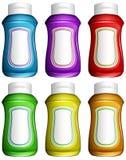 Brocche di acqua Colourful Fotografia Stock Libera da Diritti