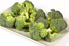 Broccoli. On the table, fresh Stock Images