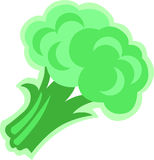 A broccoli Stock Photography