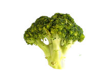 Broccoli. In a vertical orientation Royalty Free Stock Images